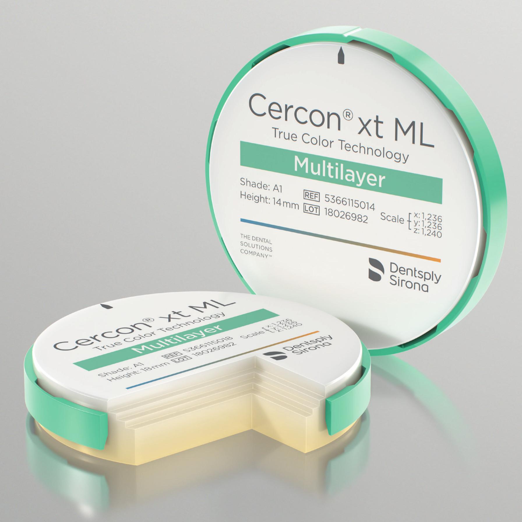 Cercon® xt ML – Zirconia Extra Traslucente multistrato