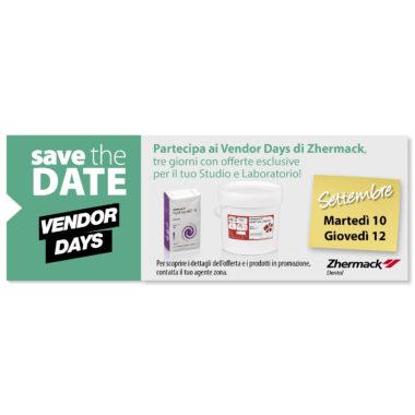 Vendor Days di Zhermack