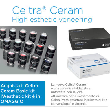 Super offerta Celtra Ceram Basic Kit + Aesthetic Kit
